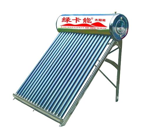 全钢系列太阳能热水器